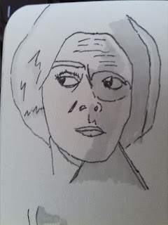So, I also sketch a bit