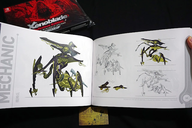 DSC01947 - 異域神劍 異度神劍 終極版 遊戲限定版畫集  ゼノブレイド ディフィニティブ・エディション / Xenoblade Definitive Edition / Xenoblade Chronicles: Definitive Edition