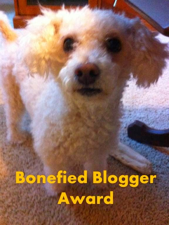 Bonefied Blogger Award