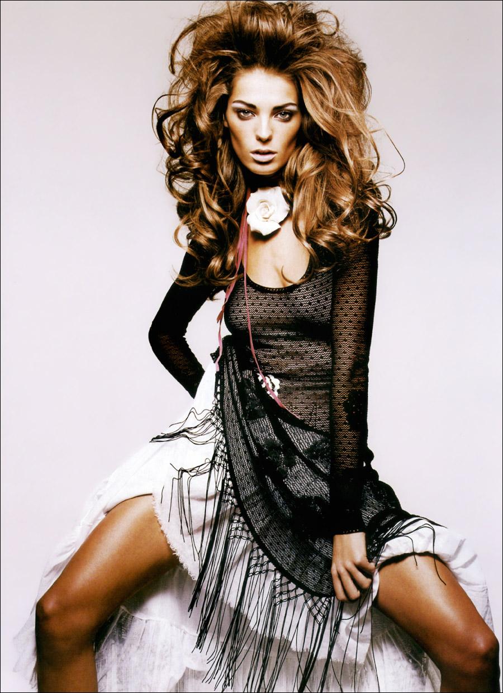Daria Werbowy Shines On Fashion Canada S October 2013: Fashion Model: Daria Werbowy