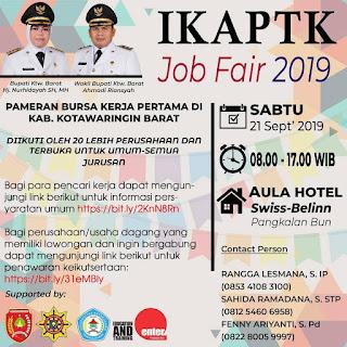 IKAPTK Job Fair 2019