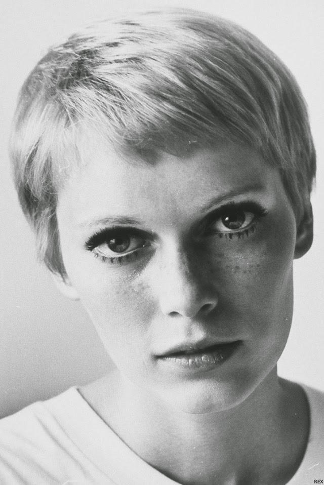 30 Beautiful Portraits of Mia Farrow With Pixie Haircut in the 1960s ...