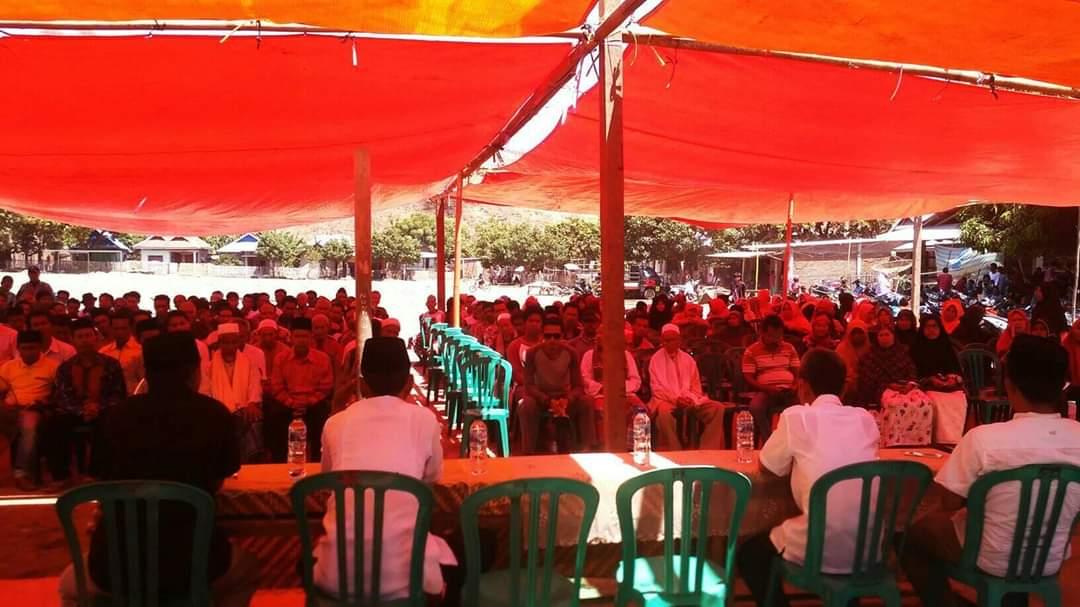 Reses Perdana di Desa Sai, Ramdin Diminta Warga Tuntaskan Masalah Pupuk