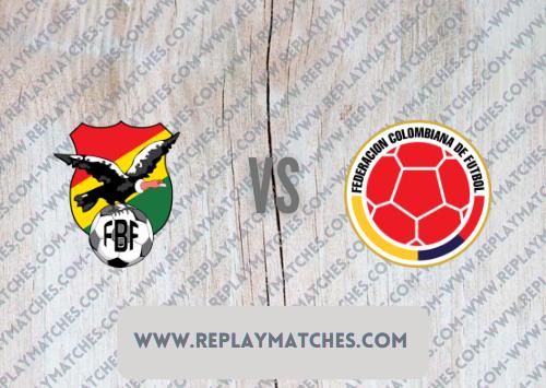 Bolivia vs Colombia -Highlights 02 September 2021