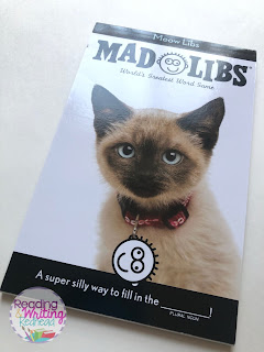 cover of cats mad libs