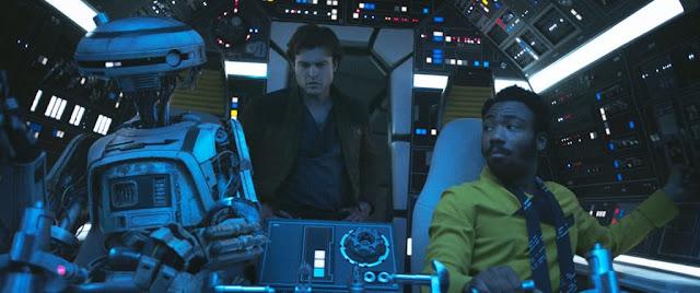 Han, Lando e L3-37