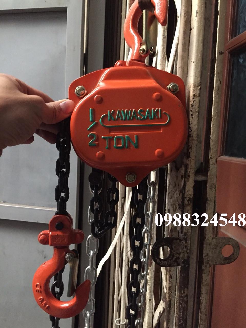 palang kéo tay Kawasaki 500kg