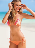 Maryna Linchuk sexy bikini body photo shoot for Victoria's Secret swimsuit model