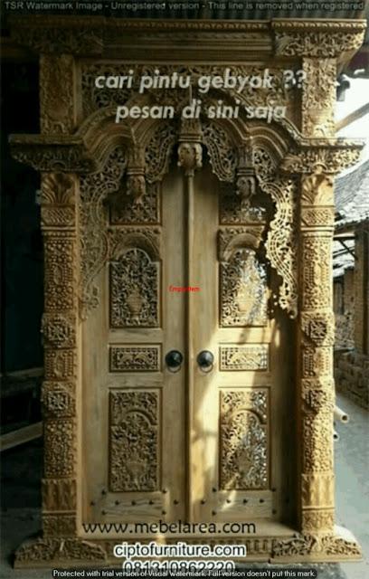 Pintu gebyok Ukiran jepara