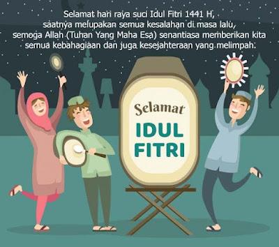 Ucapan Untuk Idul Fitri 2020 1441 Terbaru & Keren -hari raya idul fitr