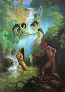 """""""air terjun sekar langit - tempat jaka tarub bertemu bidadari cantik nawangwulan"""""""