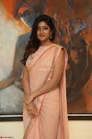 Eesha Rebba in beautiful peach saree at Darshakudu pre release ~  Exclusive Celebrities Galleries 057.JPG