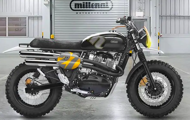 Millenai Dance Monkey One 650 Scrambler Kit
