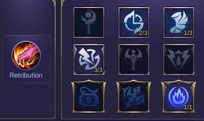 spell dan emblem karina mobile legends