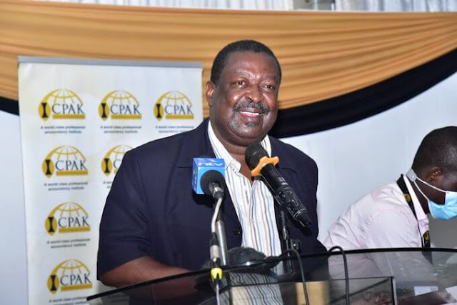 ANC party boss Musalia Mudavadi news photo