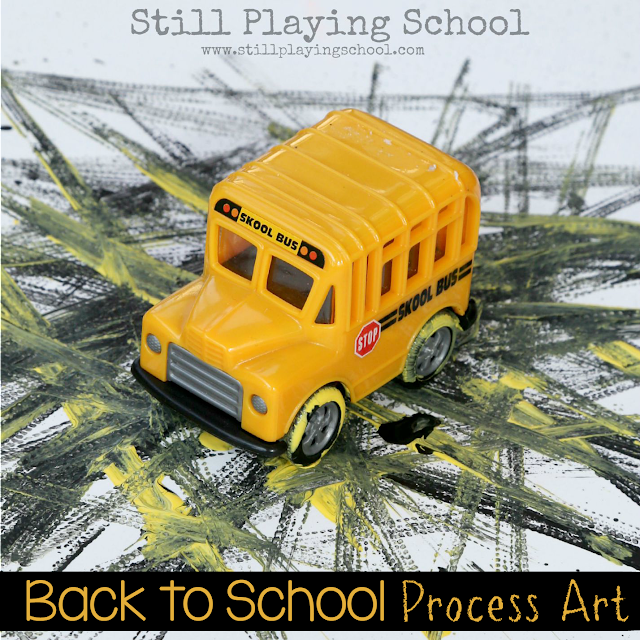 Back to School Process Art for Kids
