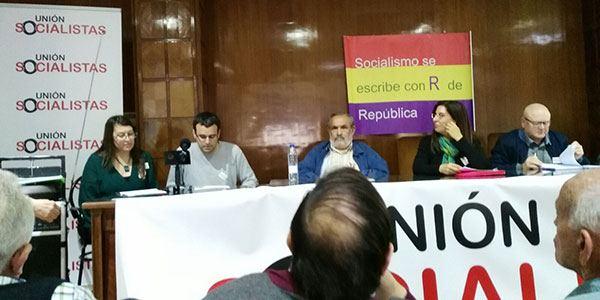 Socialistas se presenta en Madrid