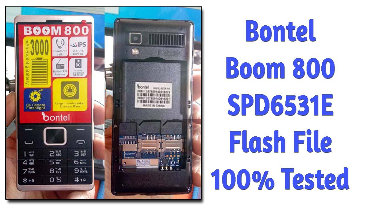 bontel boom 800 flash file firmware