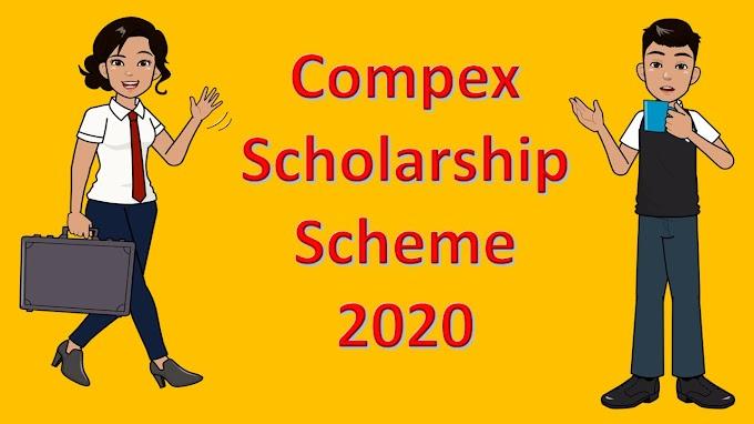 Compex scholarship 2020 Exam - Result Date