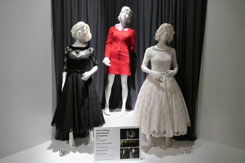 Chilling Adventures of Sabrina costumes