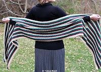 sciarpa tipo mantella
