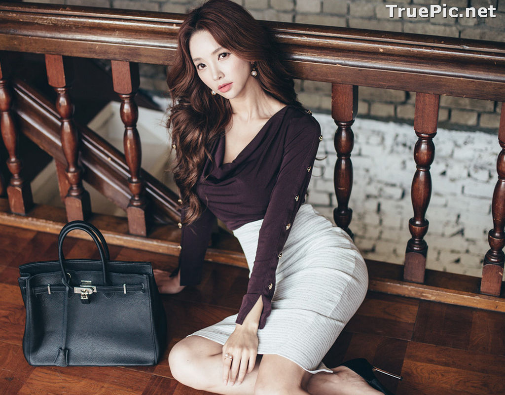 Image Korean Beautiful Model – Park Soo Yeon – Fashion Photography #10 - TruePic.net - Picture-10