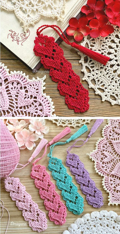 Higher Love Bookmark - Free Pattern