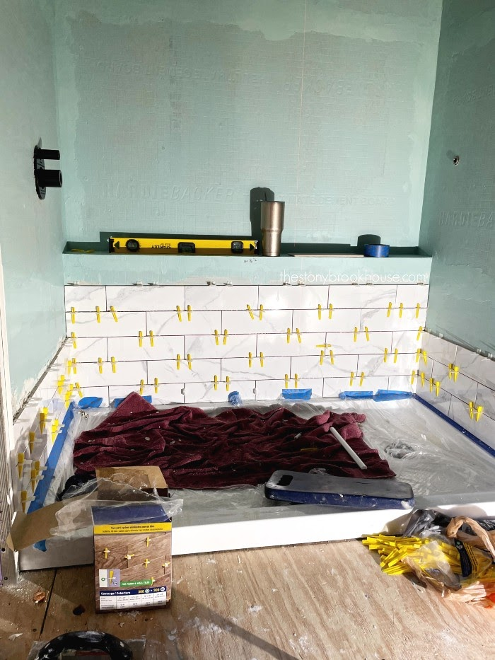 Work in small batches while tiling