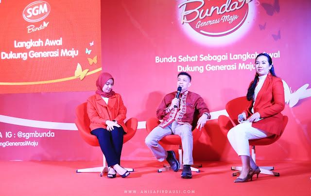 Talkshow Obgyn Festival Bunda Generasi Maju Taman Tegallega Bandung