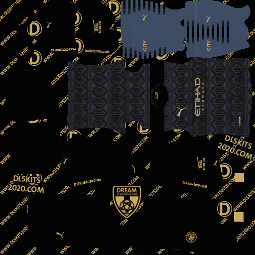 Manchester City Kit 2020 2021 Puma Kit Dream League Soccer 2020