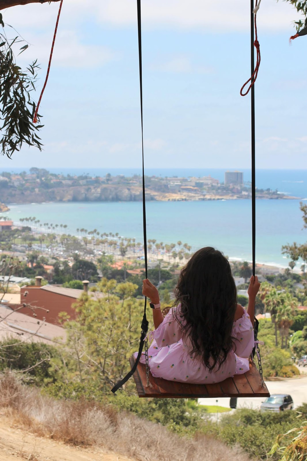 La Jolla Secret Swing, San Diego, California, August 2018