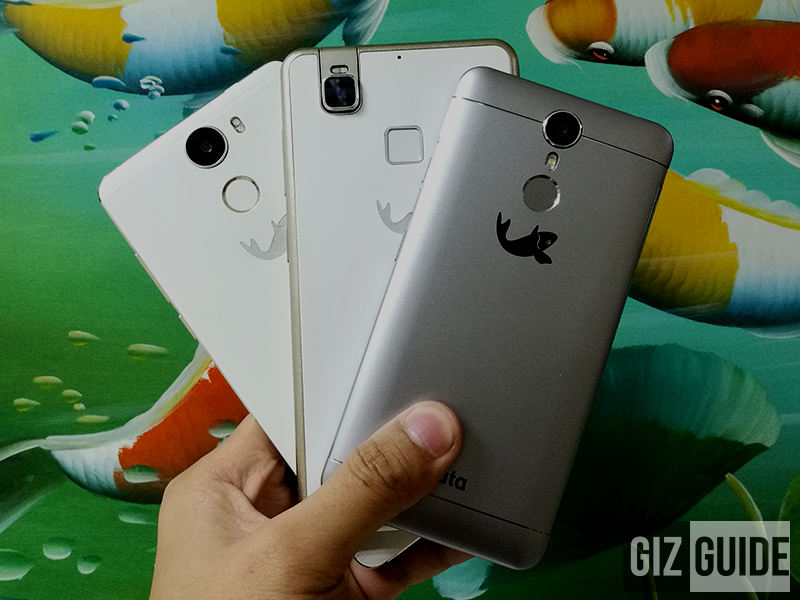 Kata Selfie, i5, And C2 With Metal Clad Design And Fingerprint Scanners This December!