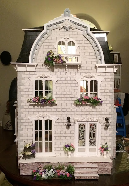 Dollhouse Build Update - Exterior Views