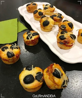 image Minis muffins façon pizza
