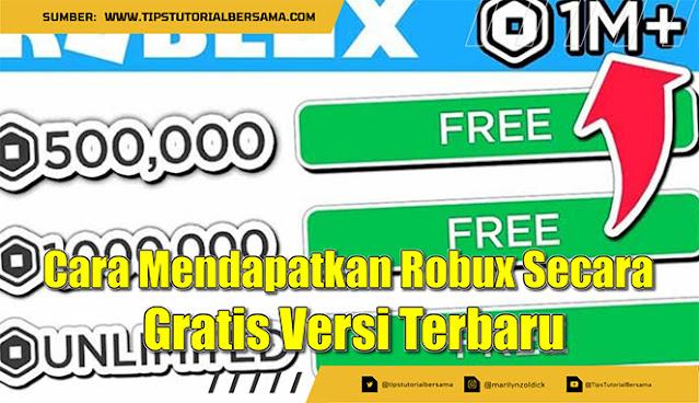 Apakah kamu ingin mengetahui bagaimana cara mendapatkan robux secara gratis? Silahkan kamu baca baik-baik semua penjelasan di bawah ini secara lengkap.