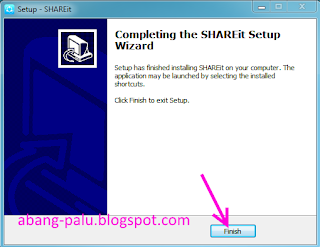 cara instal shareit di laptop