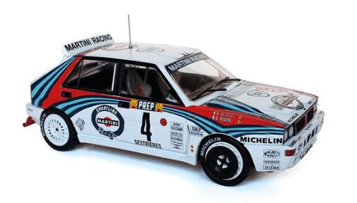 WRC collection 1:24 salvat españa, Lancia Delta HF Integrale 1:24