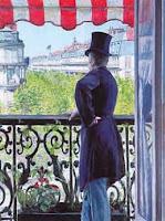 Gustave Caillebotte: L'homme au balcon, Boulevard Haussmann