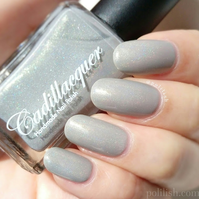 Cadillacquer 'Dreams and Dust', swatch by polilish