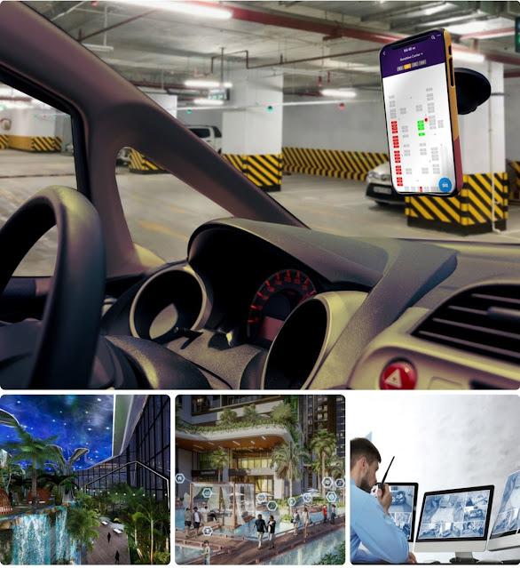 Dự án Sunshine Ks Finance Hà Nội khu đô thị Ciputra - hệ thống tiện ích đẳng cấp.