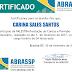 Palestra prestação de contas e previsão orçamentária - CERTIFICADO