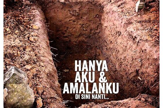 Kuburan tempat terakhir kita tinggal didunia
