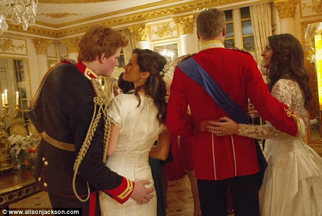 Coolfwdfood: So the rumours were true! Pippa and Prince Harry