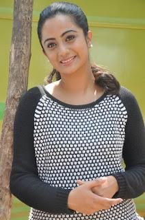 Actress Namitha Pramod Stills on talabbayi sets  0005.jpg