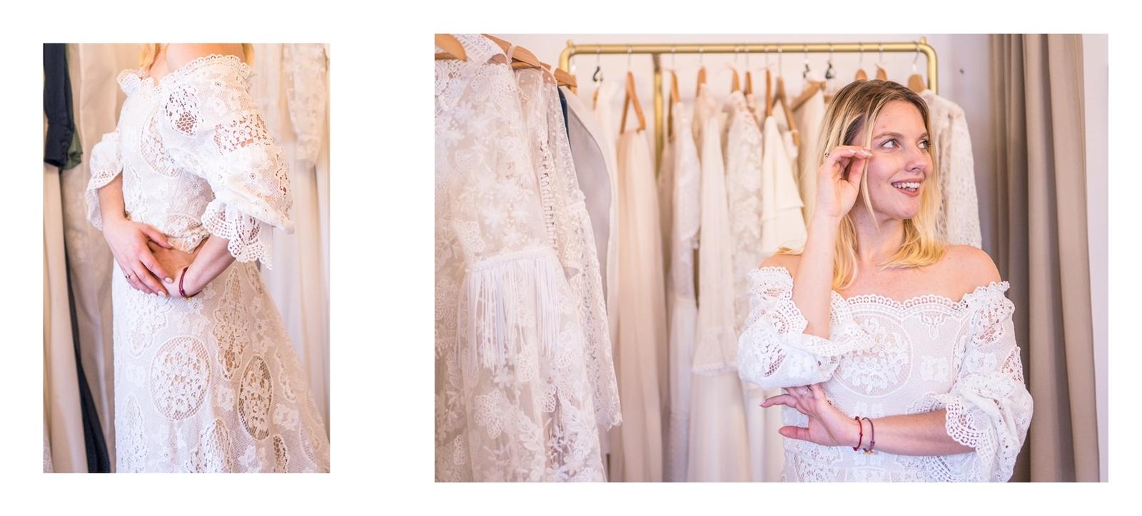 4a koronkowa suknia ślubna hiszpanka lekka z trenem boho suknie ślubne z jedwabiu koronki dla blondynek dla szczupłych dla grubszych