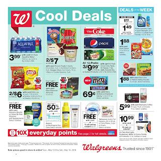 Walgreens Weekly Ad April May 12 - 18, 2019