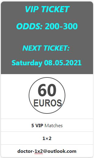doctor ticket 08.05.2021