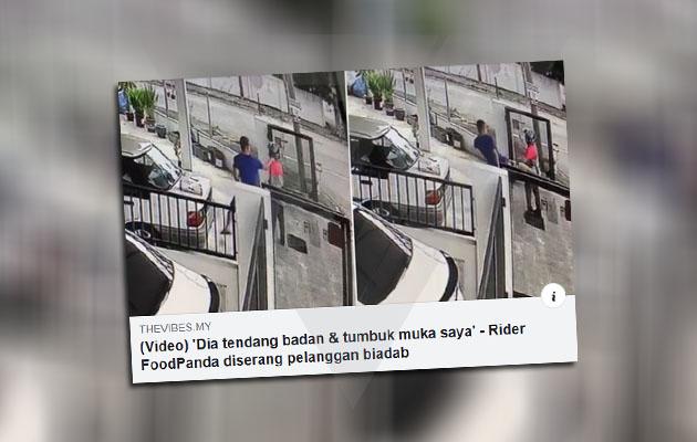 Suspek mahu batalkan pesanan, lempar wang atas lantai, paksa rider FoodPanda kutip