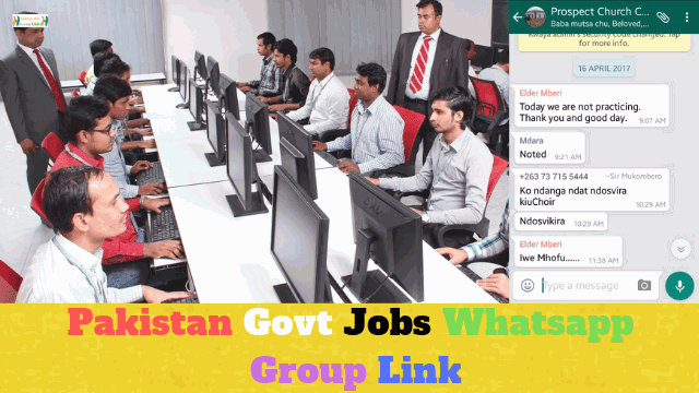 87+ Best Pakistan Govt Jobs Whatsapp Group Link List