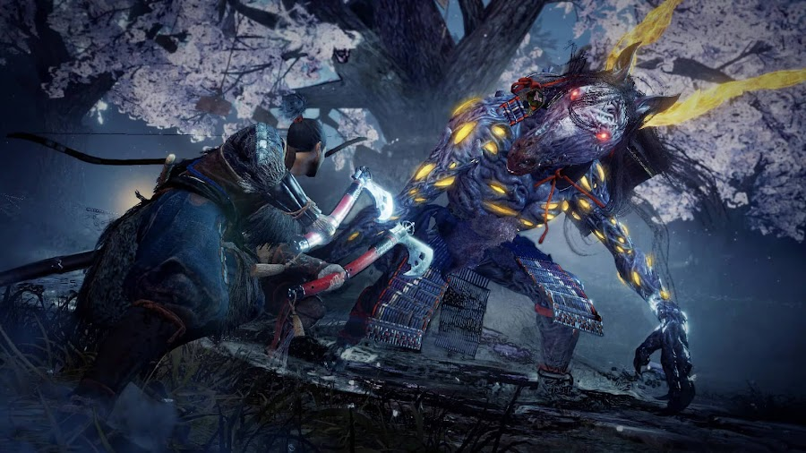 nioh 2 gameplay trailer tokyo game show 2019 mythical yokai release date early 2020 playstation 4 koei tecmo games team ninja sony interactive entertainment